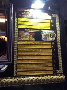 Bem Bom menu